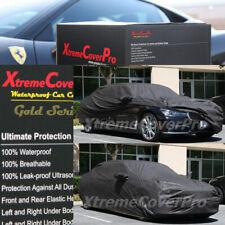 1999 2000 2001 BMW 740i 740iL 750iL Waterproof Car Cover w/MirrorPocket BLACK