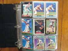 Lot  of   500  JIM  THOME  Baseball  Cards (1991-2017/Notebook/in clear  sheets)