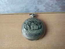 Pocket Watch Molnija Discovery day Rare Vintage Soviet Ussr Collectible Antique