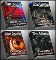 Cinematic Ultimate Silver Collection ALL Cinematic 1-4 Packs Bundle WAV Samples