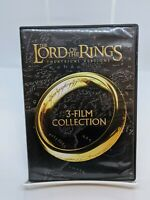 THE LORDS OF THE RINGS THEATRICAL VERSIONS 3-FILM COLLECTION DVD