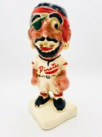 Pirates Vintage Stanford Pottery Bank. Pittsburgh Pirates Bank, Gold Tooth 1940s