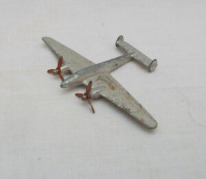 Vintage Dinky Toys 731 Twin Engined Fighter Aircraft - Made In England