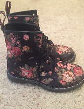 Dr. Martens Womens 1460 Re-Invented Victorian Print Lace Up Boot,Size: 7 B(M) US