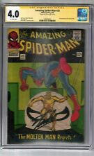 AMAZING SPIDER-MAN #35 SIGNED BY STAN LEE CGC SS GRADED 4.0 MARVEL COMIC BOOK