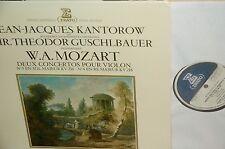 Jean Jacques KANTOROW*MOZART*Violin ctos 3/4*ERATO FRANCE GATEFOLD *GREAT