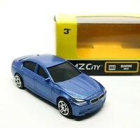 BMW M5 Metallic Blue Diecast Car Scale 1/64 (Approx 2.5 inches) RMZ City