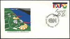 Australia 1988 Expo, Queensland periódico día cubierta #C44058