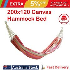 200x120cm Cotton Canvas Hammock