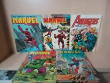 MARVEL COMICS - LOT OF 5 COMIC BOOKS - ANNUALS 1974-1979