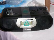 New Philips Magnavox Stereo CD Player Clock Radio Model AJ 3925/17 7.B5