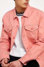 NEW Levi's Men's XS XSmall Trucker Raw Unwashed Denim Jean Jacket Jelly Crispy