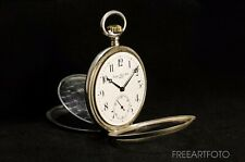 «Georges Favre-Jacot - Prima» 1900 wholly silver rare original pocketwatch - RUN