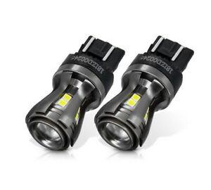 2x Ampoules T20 LED W21/5W Blanc Veilleuses 7443 feu de jour Auto 960LM 12V/24V