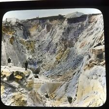 Vtg Keystone Magic Lantern Glass Slide Photo China Clay Quarries Cornwall Eng