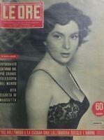LE ORE N.33 1953 GINA LOLLOBRIGIDA