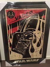Star Wars Darth Vader Poster Framed