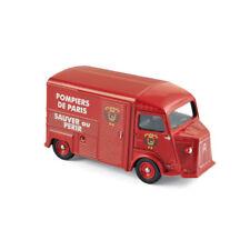 """Norev 310802 Citroen Hy """" Pompiers """" Rosso Scala 1:64 MODELLINO AUTO NUOVO !°"""