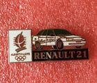 Pins Voiture RENAULT 21 J.O. ALBERTVILLE 92 Jeux Olympique Olympia Games
