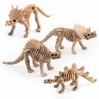 Delicate Simulation Dinosaurs Skeleton Model Set Action Figure Model Toys 12Pcs