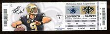 2015 Saints v Cowboys Ticket NFL 10/4/15 Drew Brees 37815