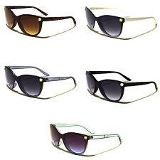 Women's Gradient 100% UVA & UVB Cat Eye Plastic Sunglasses