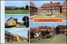 UMMERSTADT Kr. Hildburghausen DDR Mehrbild-Ak 1984
