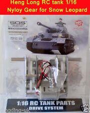 Heng Long tank 1/16 Pershing Walker bulldog plastic gearbox with rx18 plugs UK