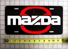 MAZDA CUSTOM LICENSE PLATE / CAR TAG