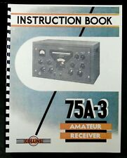 Collins 75A-3 Amateur Receiver Manual HAM RADIO