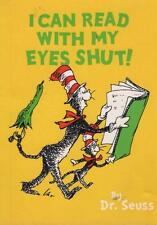 I CAN READ WITH MY EYES SHUT! DR SEUSS EXCELLENT ALMOST NEW PB FAST FREE POSTAGE