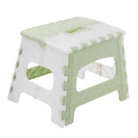 Durable Plastic Folding Step Stool for Children Home Chairs