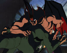 Devilman OVA The Birth Anime Cel Akira Fudo Devilman vs Monster Go Nagai 1987