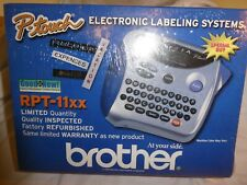 Brother Electronic Labeling System P Touch Rpt 11xx Factory Refurbished Sealed