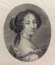 Madame de Maintenon Jean Petitot 1607-1691 Louis Ceroni 1868 Miniature