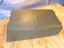 """MILITARY ARMY TANK TRACKED TRUCK """"HINGED COVER HD BOX LID OR ACCESS PANEL"""" NEW"""