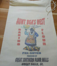 RL-11 AUNT BEA'S Flour Bag Sack Feed Seed  Novelty Collectible Vintage Style