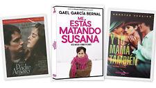 3 Dvd Set - Crimen Padre Amaro, Me Estas Matando Susasa, Y Tu Mama Tambien
