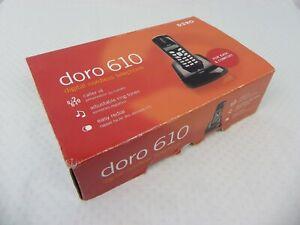 Genuine Doro 610 Cordless Phone. Unused In Original Box. NBN Compatible