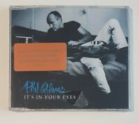 PHIL COLLINS : IT'S IN YOUR EYES (LIMITED EDITION + LIVE) ♦ NEW MAXI-CD (NEUF) ♦