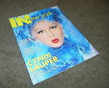 CYNDI LAUPER In New York Magazine April 2006 Three Penny Opera Alan Cumming MINT
