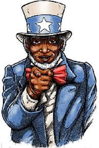 Uncle Wants You! STICKER Decal Poster Artist Jermaine Rogers JR14