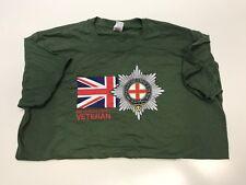 Coldstream Guards - Size XL - Veteran T Shirt with Union Jack Lrg Print