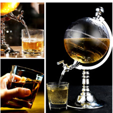 Classy Spirit Whiskey Bar Globe Drink Dispenser For Home And Office Party