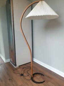 Mads Caprani Danish Teak Bentwood Floor Lamp