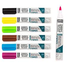 Pebeo 7A Licht Stoffe Farbe 1mm Spitze Marker Stifte Erhältlich IN 18 Farben