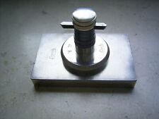 LORCH Anreißplatte mit Anreißbock und Stichel für Uhrmacherdrehmaschine 8 mm