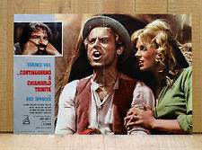 ...CONTINUAVANO A CHIAMARLO TRINITA' fotobusta poster Bud Spencer Terence Hill