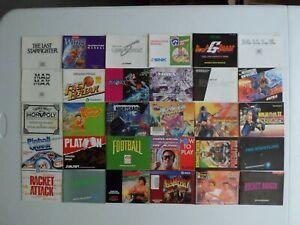 Choose: Nintendo NES Instruction Manuals, 100% Original, Pick from List