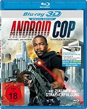 Android Cop [3D Blu-ray] [Special Edition] Michael J. White   * NEU & OVP *